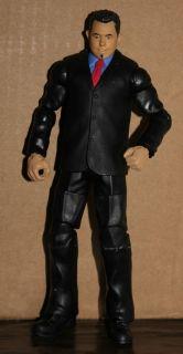 WWE Elite Michael Cole Build A Figure BAF Legends Custom