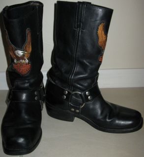 Harley Davidson Mens Riding Boots Size 8 5