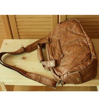 Soft Leather Messenger Bag Brief Case Business Bag