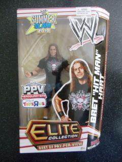 Hart WWE Elite Collection Action Figure Build Michael Cole New