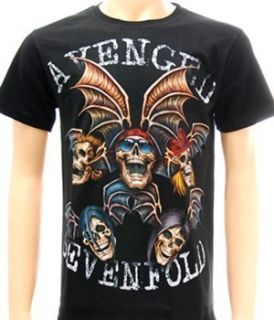 sevenfold A7X Rider Rock Punk T shirt Sz XXL 2XL Heavy Metal Band