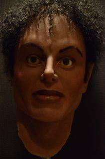Michael Jackson Silicone Bust Memorabilia Mask