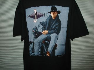 John Michael Montgomery Shirt Mens XXL 2XL 1994 Country Music Free