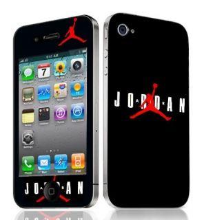 Michael Jordan Vinyl Skin Decal Cover Iphone 4 Sticker Body Guard
