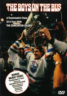 Edmonton Oilers The Boys on The Bus DVD Gretzky Messier