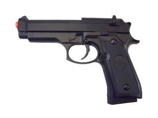 M9 Beretta Replica Black* METAL ZINC ALLOY Airsoft Gun P818 [Free BB
