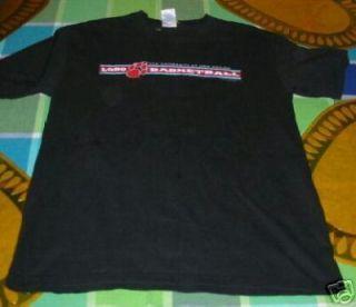 New Mexico Lobos Basketball T Shirt Medium UNM Nice