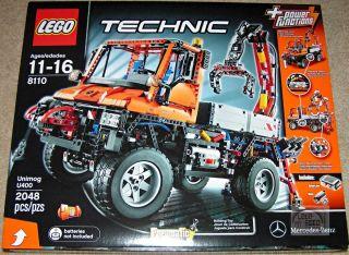 Lego Technic Mercedes Benz Unimog U400 8110