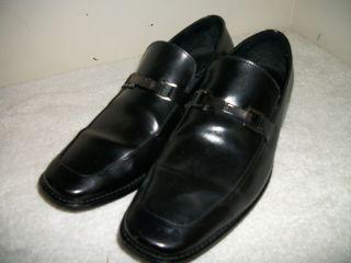 MICHAEL SHANNON DRESS SHOES   BLACK   MENS SIZE 10.5   NEW   LEATHER