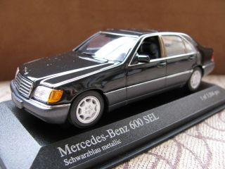43 Minichamps Mercedes Benz 600 Sel W140 1991