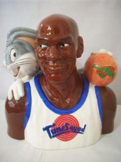 Warner Bros Michael Jordan Bugs Cookie Jar C960