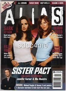 Alias Official Magazine 8 Jennifer Garner MIA Maestro