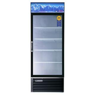 Everest Single Glass Door Merchandiser Refrigerator Cooler Free