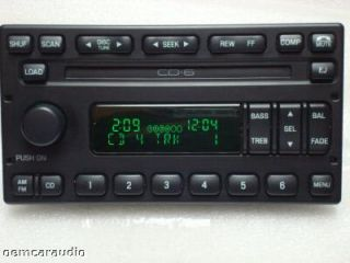 Mercury Grand Marquis Aux 6 CD Player Radio Ford Escape