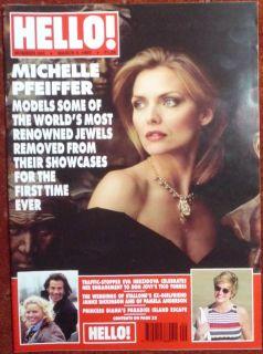 No 345 Eric Clapton Michelle Pfeiffer Princess Diana Etc
