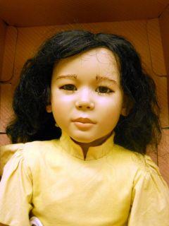 Annette Himstedt Michiko Vinyl Doll 30 Inch