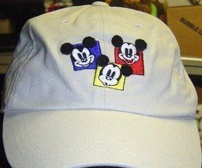 BEST GUEST EXCLUSIVE MICKEY MOUSE BASEBALL CAP EMBROIDERED * NEW RARE