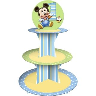 Mickey Mouse 1st Birthday Party Supplies Cupcake Stand