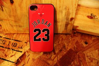 Michael Jordan 23 bulls basketball vintage Apple Iphone 4 / 4s case X