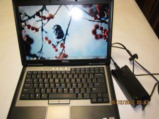 Dell Latitude D620, Windows 7, WIFI, Office 2010 2Geg Ram Memory 160