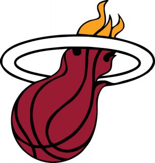 Miami Heat Logo Window Wall Sticker Vinyl Car Decal Any Colors