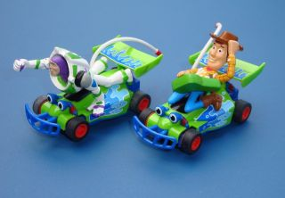 PAIR OF MICRO SCALEXTRIC DISNEY TOY STORY CARS