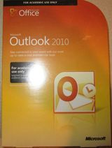 Microsoft Outlook Office 2010 Full Version AE Edition Retail Box