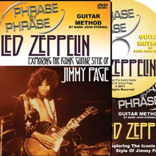 Guitar Method DVD LED Zeppelin Jimmy Page Style Lessons