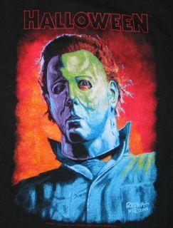 Halloween Movie Michael Myers Art Rendition T Shirt New UNWORN