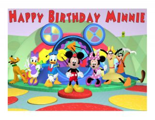 Mickey Mouse Clubhouse Edible Cake Image Frosting Sheet