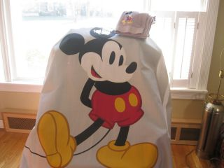 Mickey Mouse Shower Curtain Large Bath Towel