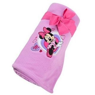 Store Minnie Mouse Pink Fleece Blanket 50X60 Mickey Clubhouse