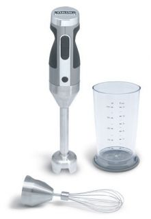 VIKING Professional 300 Watt Immersion Blender 3 Pc Set Mixer SILVER