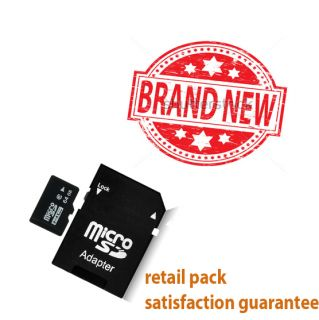 Micro SD MicroSD SDHC TF Memory Card Comes with Case Adapter SD