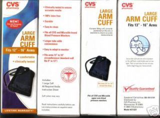 CVS Microlife Large Blood Pressure Monitor Cuff Big New