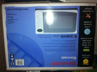 Sharp Microwave Oven R308WH White