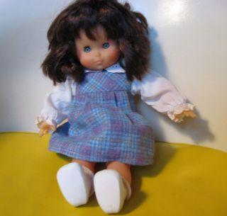 Vintage 14 Corolle Cutest Little Girl Doll Wooden Box Refabert France