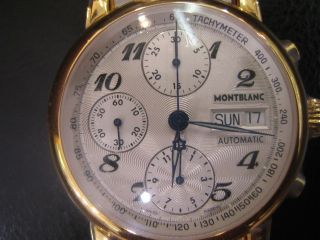 Montblanc Star Mens Watch Automatic Stainless s Two Tone Original
