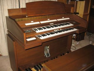 MIDI Church Organ Console for Hauptwerk   re purposed Allen Organ