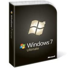 Microsoft Windows 7 Ultimate,SKU GLC 00182, Retail Box,Full,32 bit,64