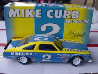 1980 Dale Earnhardt 2 Mike Curb Olds Clear Window Car