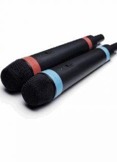 Sensor Official Sony 2 Wireless SingStar Microphones PS3 ◄