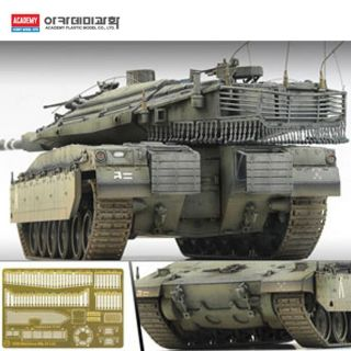 Academy oy Miliary Vehicles 1 35h Scale Merkava MK IV Lic Model Ki