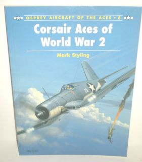Military Book WW2 Osprey Aces Aircraft 8 Corsair 1855325306