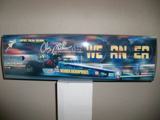Tools 1:16 scale Werner Top Fuel Dragster – Driven by Clay Millican