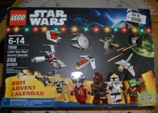 Lego Star Wars 2011 Advent Calendar Exclusive Yoda Minifigure 7958