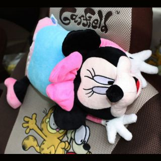 Mickey Mouse Car Seat Neck Rest Cushion Pillow 2pc 2361