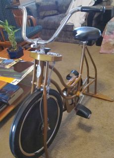 Vintage Schwinn Exerciser Exercise Bike Stationary Bicycle with