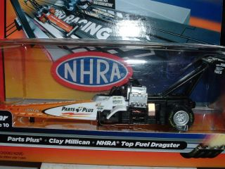 NHRA Top Fuel Dragster Parts Plus Clay Millican 4 Gear Chassis
