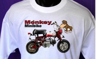 Honda Z50 Monkey T Shirt Mini Bike Honda T Shirt All Sizes